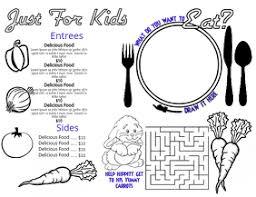 890 Kids Menu Customizable Design Templates Postermywall
