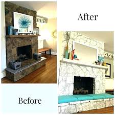 river rock fireplace painted white white painted stone fireplace painted rock fireplace painting a stone fireplace