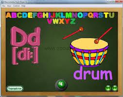 flash анимация dipcurs При выборе буквы появляется ее описание и звуковое сопровождение звучания