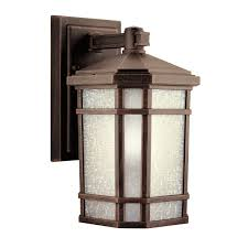 delightful kichler 9718pr one light outdoor wall mount wall porch lights com pictures