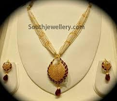 jalli work pendant