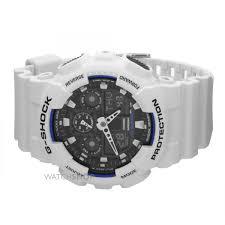 men s casio g shock alarm chronograph watch ga 100b 7aer watch nearest click collect stores