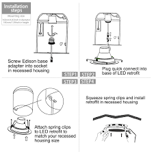 watt inch energy star ul listed led recessed light torchstar led recessed lighting fixture installation lightbox moreview