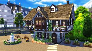 Small Picture The Sims 4 Build Tutorial How to build a Tudor House Sims