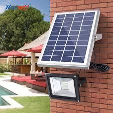 <b>HOOREE</b> 18/30/40/50W <b>Solar LED</b> Flood Light <b>36</b>/63/80/100 <b>LED</b> ...