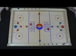 Wooden Board Games Plans Penny Hockey wooden board Game 100 person or 100 team game flick 45