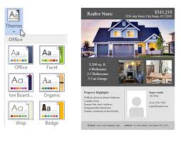 realtor flyers templates real estate flyer template for word