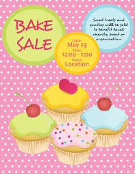 Bake Sale Flyer Templates Free Free Bake Sale Flyers And Theyre Soooo Cute Www