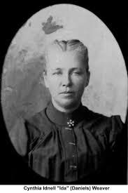 Cynthia Idnella Weaver (Daniells) (1857 - 1934) - Genealogy