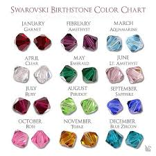 Swarovski Crystal Birthstone Chart Hand Stamped My Angel Heart Necklace I Have An Angel Watching Over Me Swarovski Crystal Birthstone Charms Angel Wing Charm Sold By Charms For An Angel