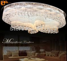 large modern ceiling lights siljoy modern crystal chandelier lighting contemporary ceiling light