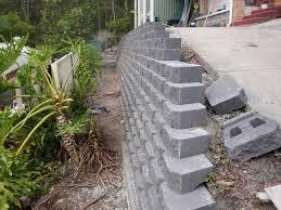 Small Picture Australian Retaining Walls Diamond Concrete Block Retaining Walls