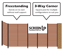 Free standing outdoor privacy screens Full Image Screen Up Complete Whites Group Whites Screen Up