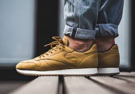 above you will get an on feet look at the reebok classic leather wheat this version of the classic reebok model opts for a tonal finish as a wheat upper