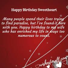 Happy Birthday Wife Quotes