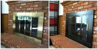 installing a gas fireplace mantel cost to replace ideas update brass surround paint