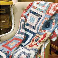 Star Quilt Patterns Archives - The Quilting Company & Westward Journey: FREE Fast Fat-Quarter Lap Quilt Pattern Download Adamdwight.com