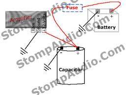 capacitor install guide Dual Car Amp Wiring Diagram at Car Amplifier Capacitor Wiring Diagram