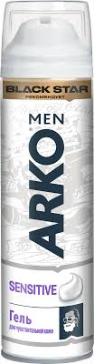 <b>Arko</b> MEN <b>Гель для бритья</b> Sensitive 200мл — купить в интернет ...