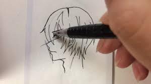 イラスト横顔の描き方講座れるあ Youtube