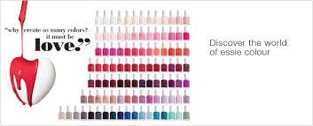 Essie Gel Colors Chart Essie Nail Colour Chart Best Nail Imagebrain Co