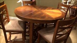 Oval Table Dining Room Sets 5 Pc Bistro Round Oval X Base Counter Height Table Dining Room Set