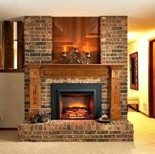 fireplace place fire sense black wall mounted electric