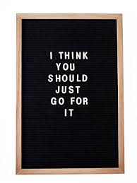 Amazon.com : RIVI Vintage Inspired Changeable Letter Board 12x18 ...