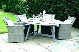 plastic garden table decorating elegant round plastic outdoor tables garden table furniture resin and chairs dining
