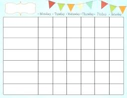 Daily Weekly Monthly Chore Chart Expert Printable Daily Chore Chart Template Printable Chore