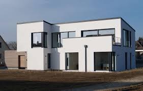 Einfamilienhaus Modern Holzhaus Flachdach Garage Mit Flachdach