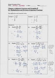 Kindergarten Sec 2 Chapter 6 Algebraic Fractions WS [SOLUTIONS ...