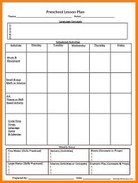 Free Printable Lesson Plan Template 8 Free Printable Lesson Plans Templates St Columbaretreat