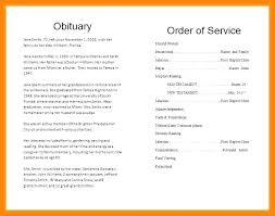 Obituary Template Word Document Energycorridor Co