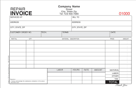 Hvac Invoice Templates Custom Generic Invoice Template Pdf From Hvac Service Invoice Template Hvac