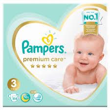 <b>Подгузники Pampers</b> 3 - купить памперсы 3 размера (4-11 кг ...