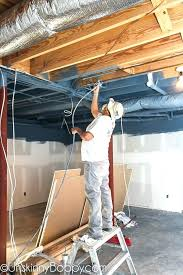 painted basement ceiling. Awesome Painted Basement Ceiling Tales Of Ceilings And Pole Dancing Woes He Sprayed The