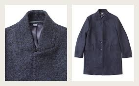 paul smith boucle wool coat textured overcoat that feels as cozy as it looks structured collar lends it a dashing air perfect size for a few base layers