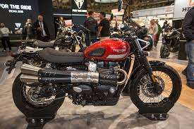 the 2017 triumph street scrambler wants to be the only scrambler