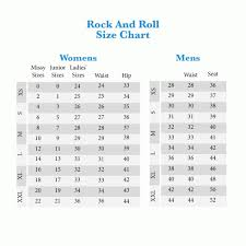 Rock N Roll Jeans Size Chart Rock And Roll Cowgirl Jeans Size Chart The Best Style Jeans