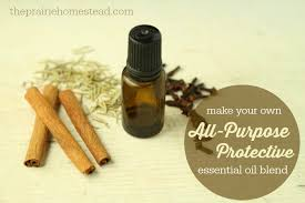 homemade protective essential oil blend