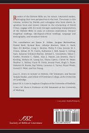 interested readers essays on the hebrew bible in honor of david interested readers essays on the hebrew bible in honor of david j a clines james k aitken jeremy m s clines christl m maier 9781589839243