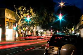 Friday Night Lights Slo The Lights At Night In Downtown San Luis Obispo Ca Even