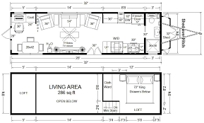 Small Picture Tiny House Floor Plans 32 Tiny Home on Wheels Design