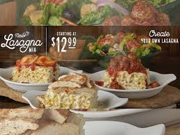 olive garden launches first ever create your own lasagna