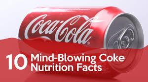 Coca Cola Nutrition Chart 33 Random Coke Nutrition Facts Factretriever Com