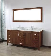 wood bathroom vanity. Art Bathe Jackie 72 Cherry Double Bathroom Vanity Wood