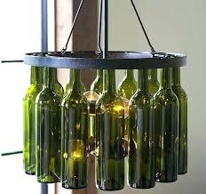 bottle chandelier kit bottle chandelier wine bottle