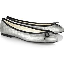 French Sole Quilted patent-leather ballet flats ($90) ❤ liked on ... & French Sole Quilted patent-leather ballet flats ($90) ❤ liked on Polyvore  featuring Adamdwight.com