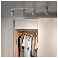Ikea Nymåne Ceiling Light With 4 Spotlights White In 2019